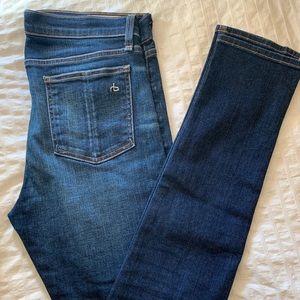 rag & bone skinny high rise jeans